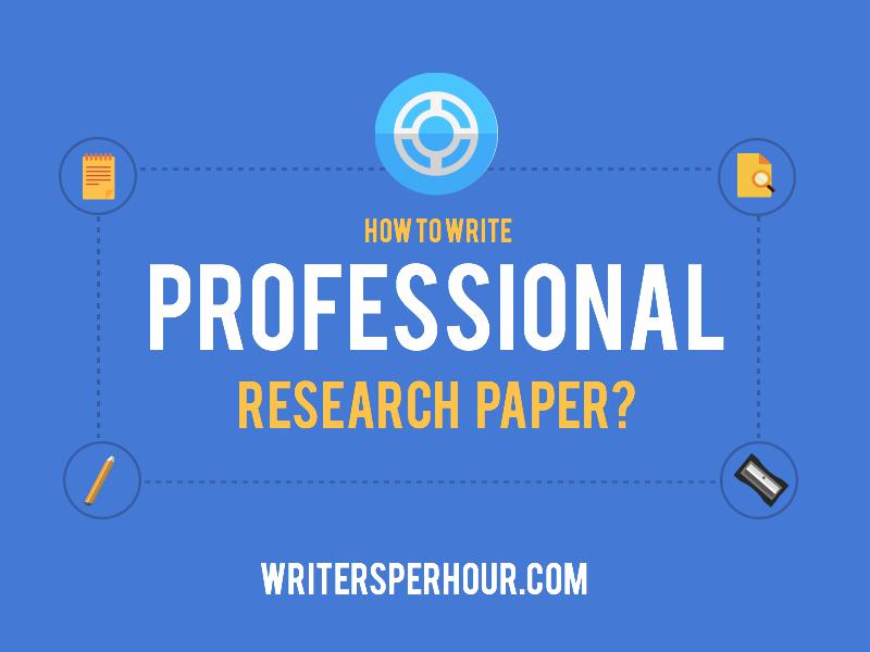 How to Write a Professional ResearchPaper